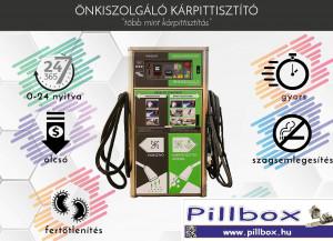 Pillbox Kárpittisztító